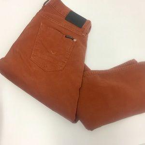 Hudson Mens Russet Byron Straight Fit Jeans sz 30